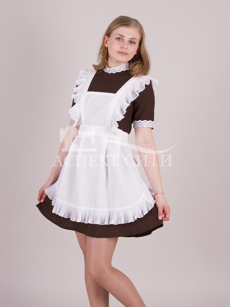 Картинки по запросу коричневое школьное платье