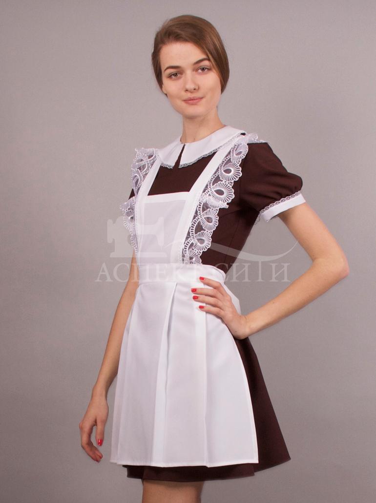 Модели школьной формы платье и фартук