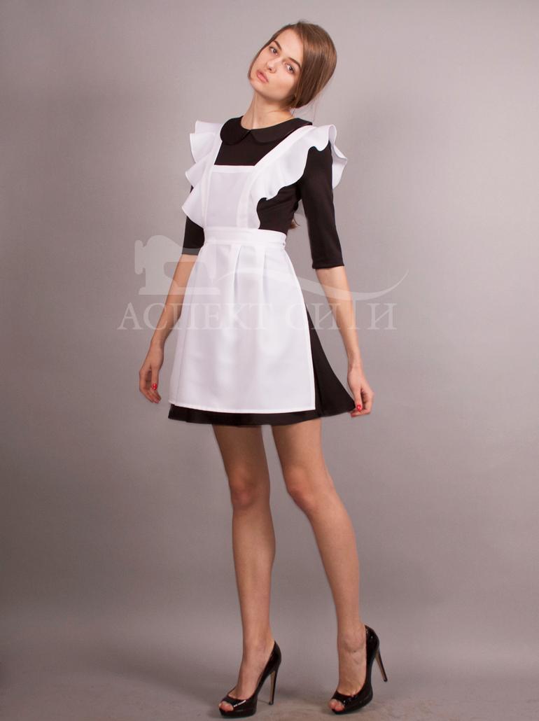 Школьная форма платье и фартук в москве