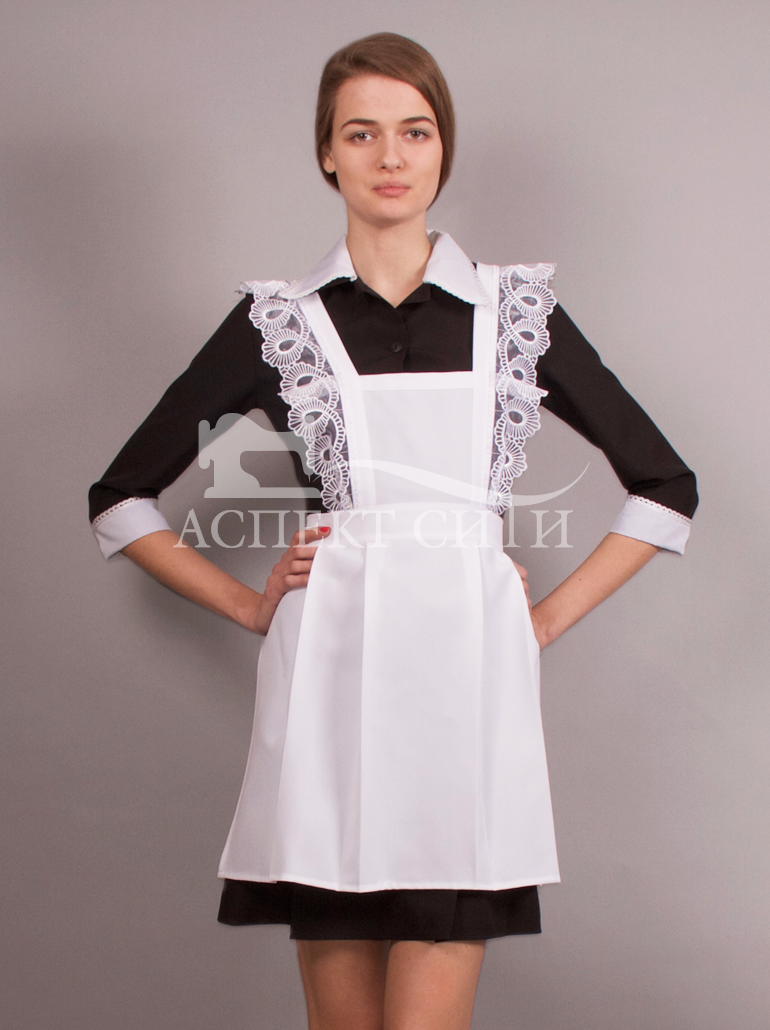 Платье в школьном стиле своими руками 100